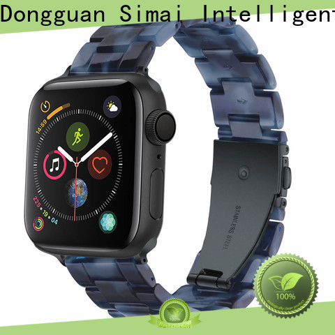 Simai resin best iwatch straps factory for apple
