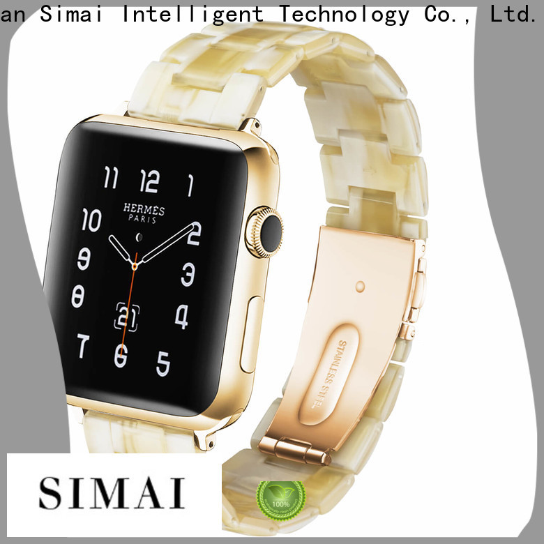 New apple watch gold strap stainless manufacturers for apple
