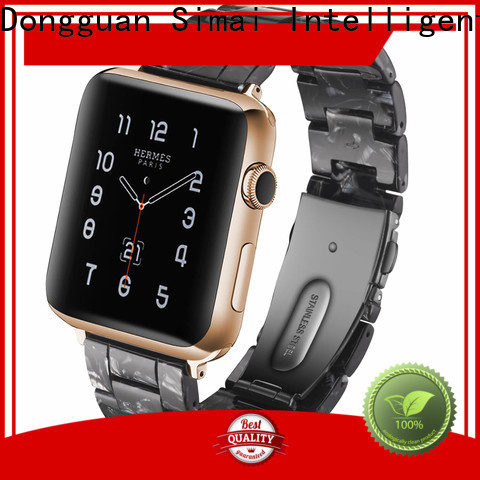 New gold watch band for apple watch resin for business for apple