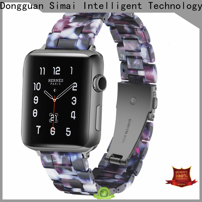 Simai Latest apple watch 2 leather band for business for apple