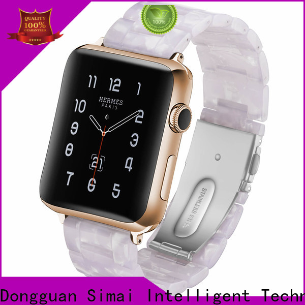 Simai Wholesale apple watch band 38 factory for Huawei