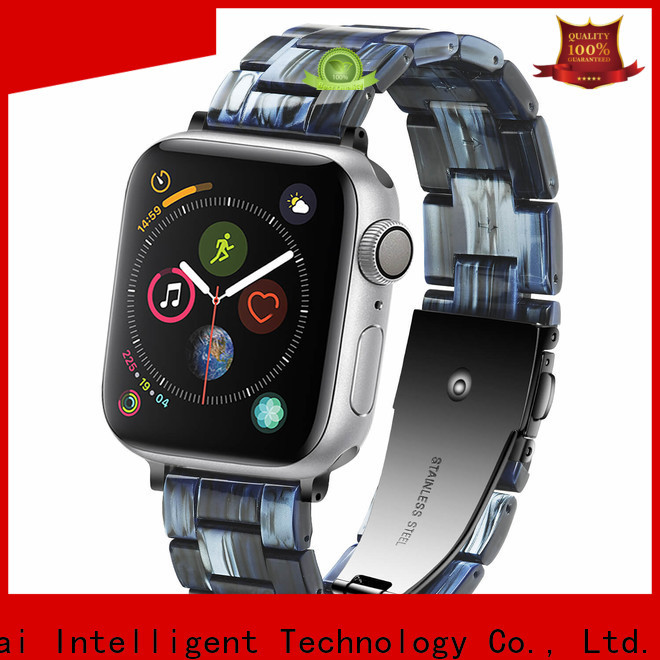 Simai resin watch straps for apple watch for business for apple