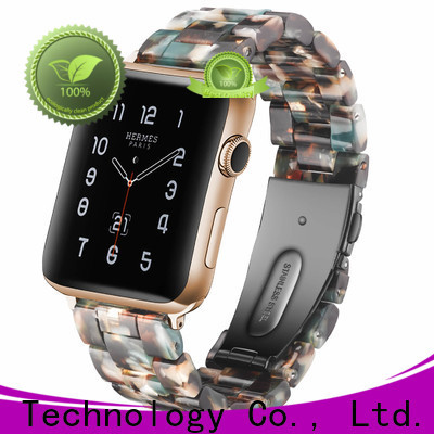 Wholesale designer apple watch straps lined factory for apple