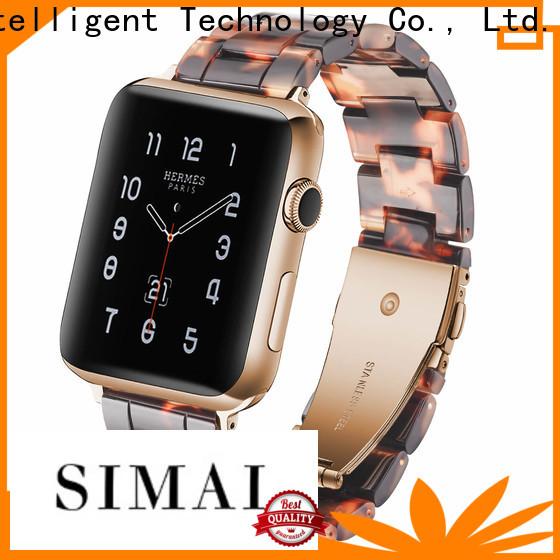 Simai top men's metal watch straps factory for Huawei