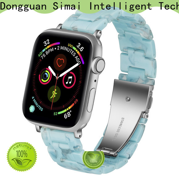 Simai nougat apple watch strap 38mm company for Samsung