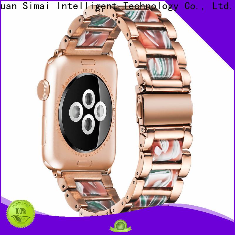 Wholesale resin steel watch strap watch factory for iwath