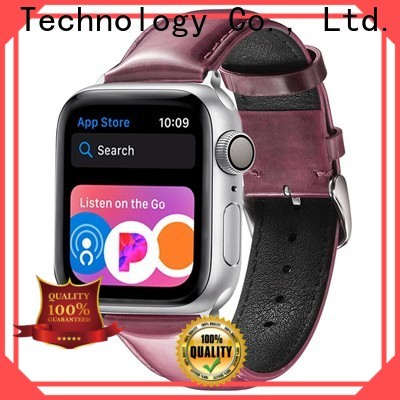 Simai Top custom made leather watch bands suppliers for Samsung