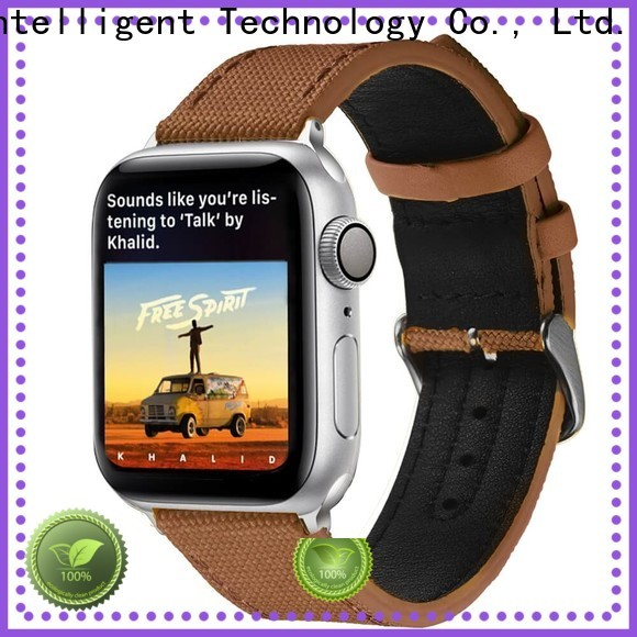 Best canvas watch band 20mm grey suppliers for Huawei