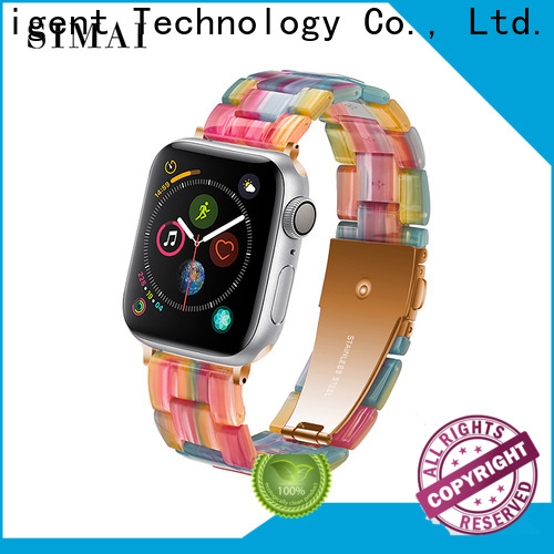 Simai Best brown apple watch band factory for cacio