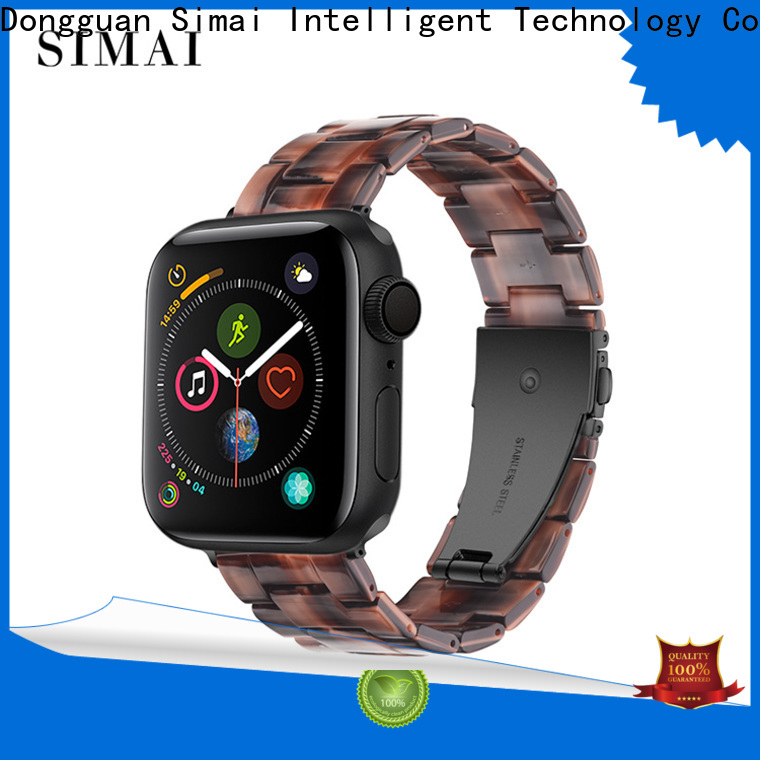 Simai series custom watch bands metal for business for Huawei