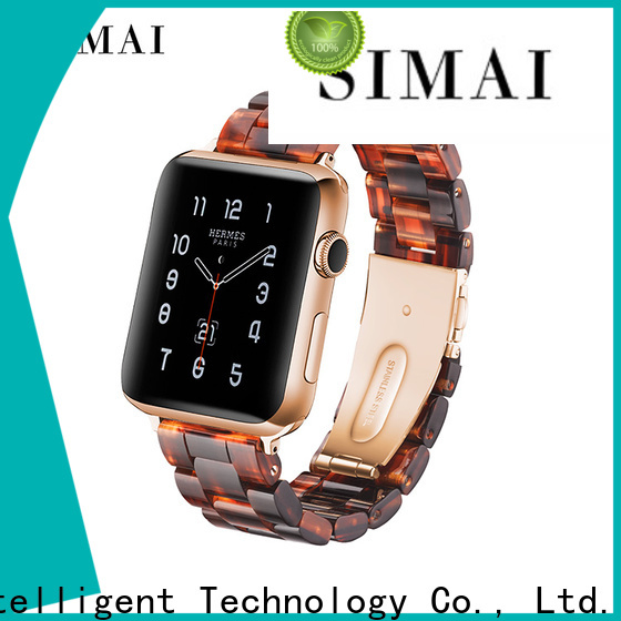 Simai apple black watch bracelet for business for Samsung