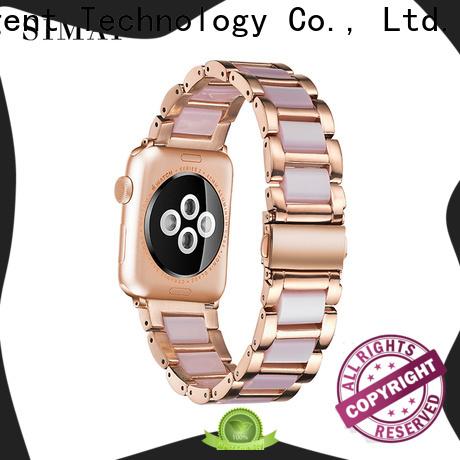 Simai light apple watch steel strap company for Huawei