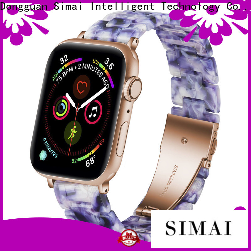 Simai light apple watch bands for sport model for business for cacio