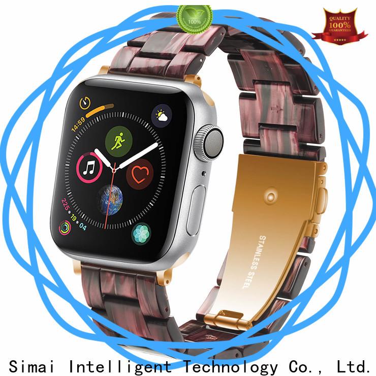 Simai jade 18mm metal watch band factory for Huawei