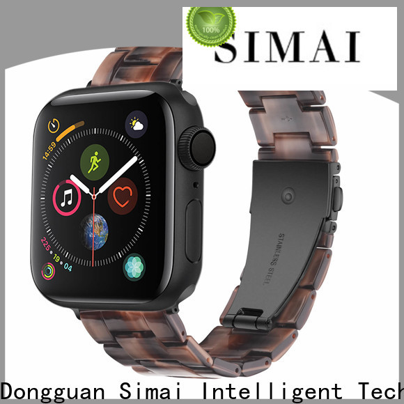 Simai Best stainless steel iwatch band factory for apple