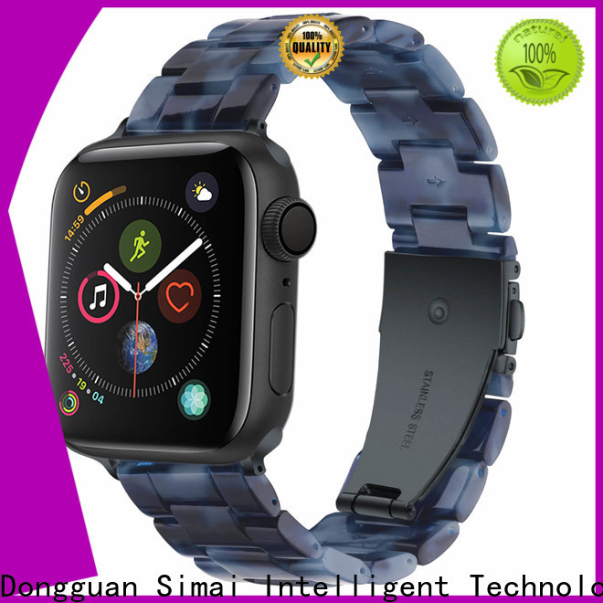 Simai Latest gold watch strap suppliers for Huawei