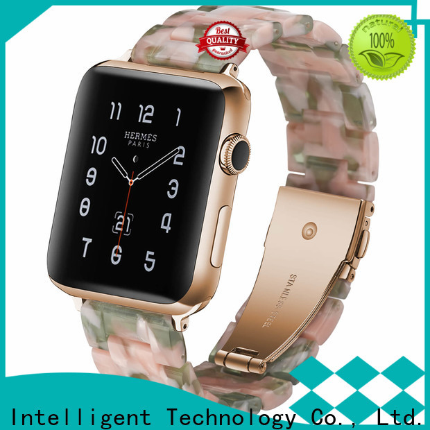 Simai dark 22mm metal watch band factory for apple