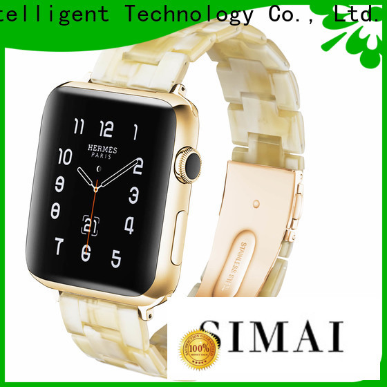 Simai Top 22mm metal watch strap manufacturers for apple