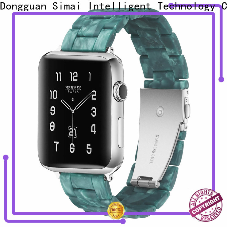 Simai New replacement stainless steel watch straps supply for Samsung
