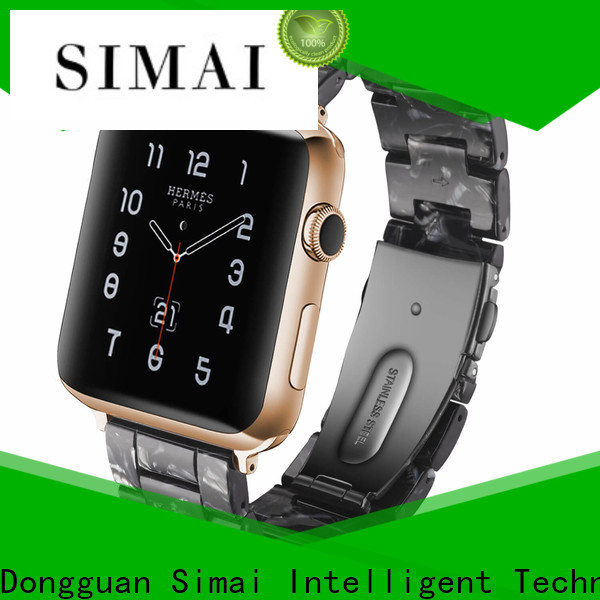 Simai red cool apple watch bands manufacturers for Samsung