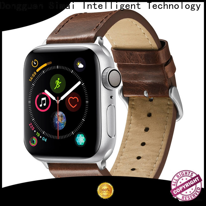 Simai New chain link apple watch band supply for Huawei