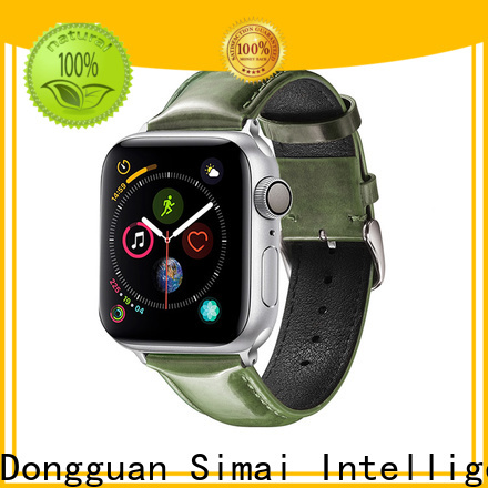 Simai Custom leather watch strap suppliers manufacturers for Huawei