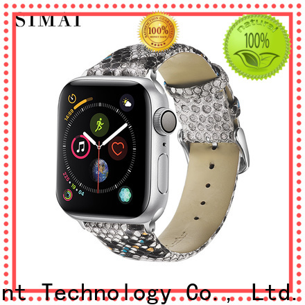 Simai watch parachute cord watch band factory for apple