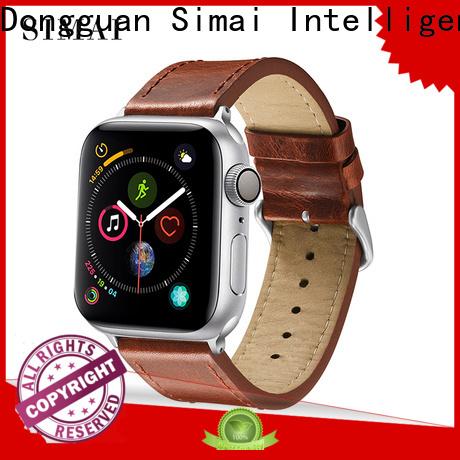 Simai Custom watch bands for apple watch 38mm company for cacio