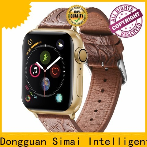 Simai New vintage leather straps for watches company for apple