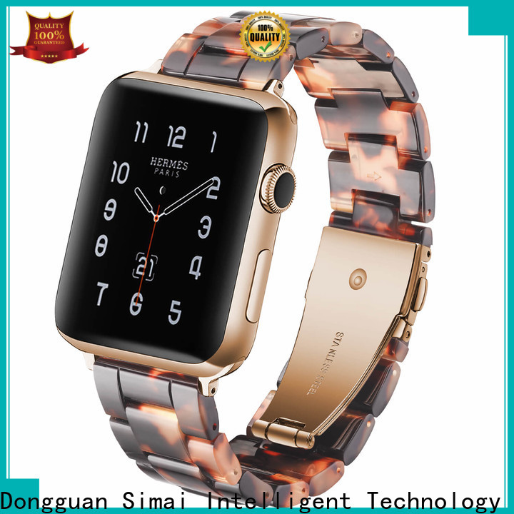 Simai purple metal bracelet watch supply for Huawei