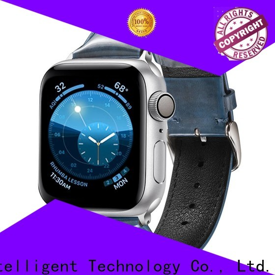 Simai leather high quality leather watch bands factory for apple