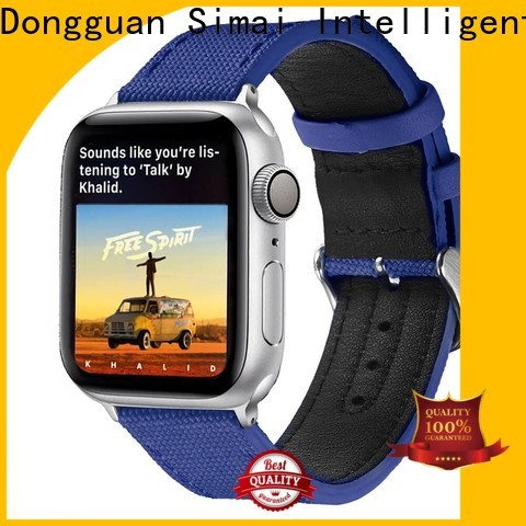 Simai Best military canvas watch strap manufacturers for iwath