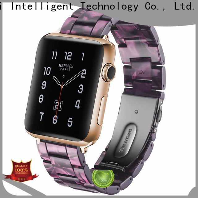 Custom black stainless steel apple watch band powder suppliers for cacio