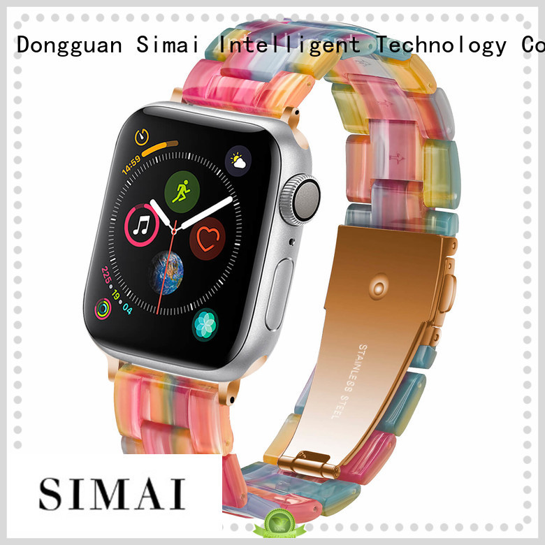 Simai New watch bands suppliers for business for apple