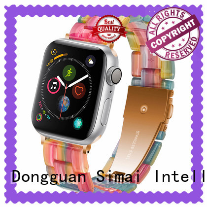 Wholesale leather bracelet watch silk company for Samsung
