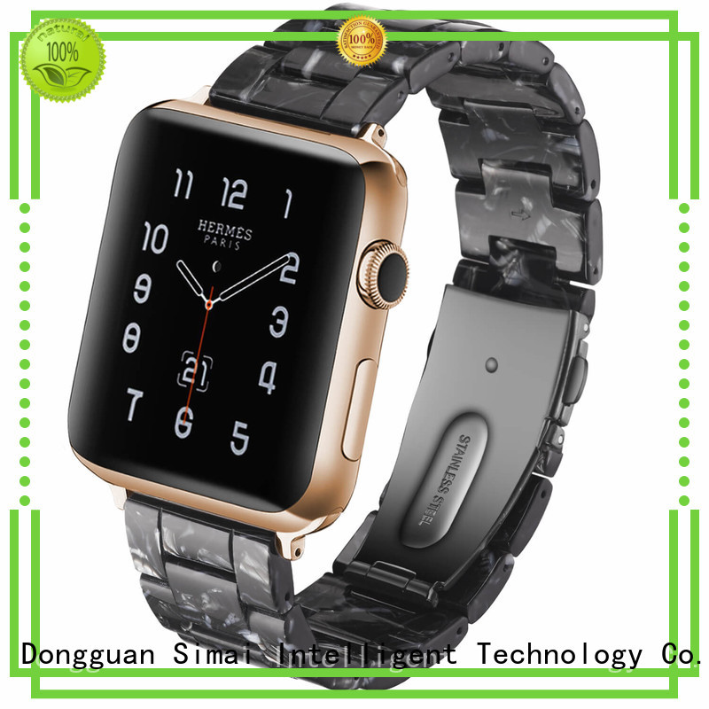 Simai Latest apple watch silver strap suppliers for Samsung