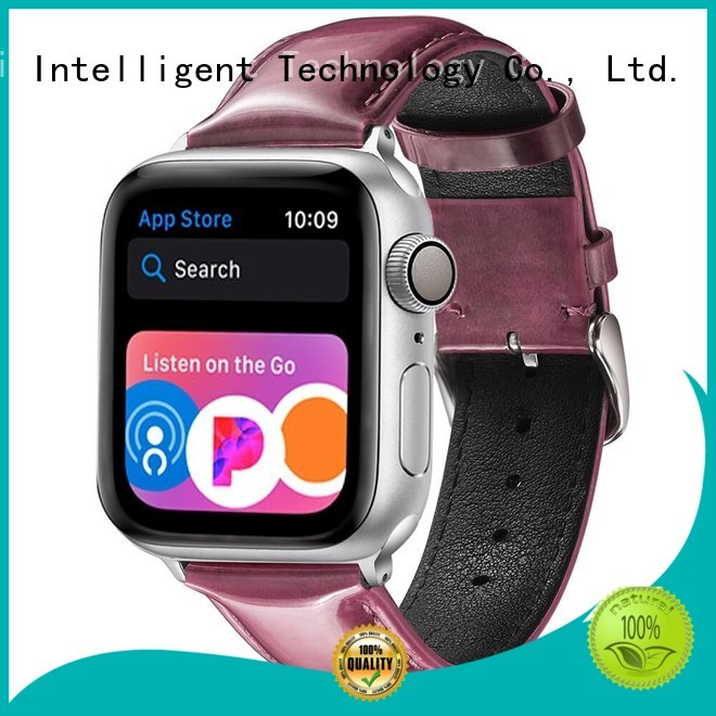 Simai apple custom made leather watch bands for business for Huawei