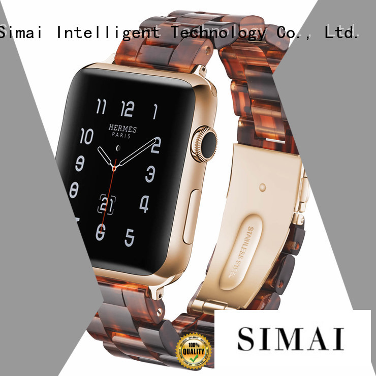 Simai Latest navy blue apple watch band suppliers for apple