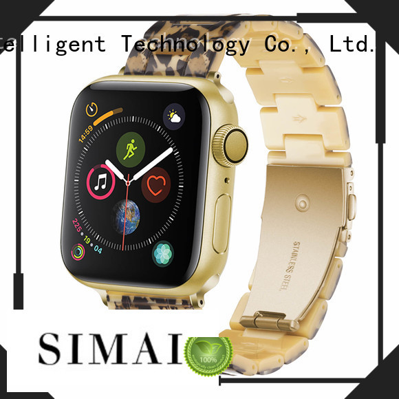 Simai Latest apple watch strap 42mm factory for Samsung