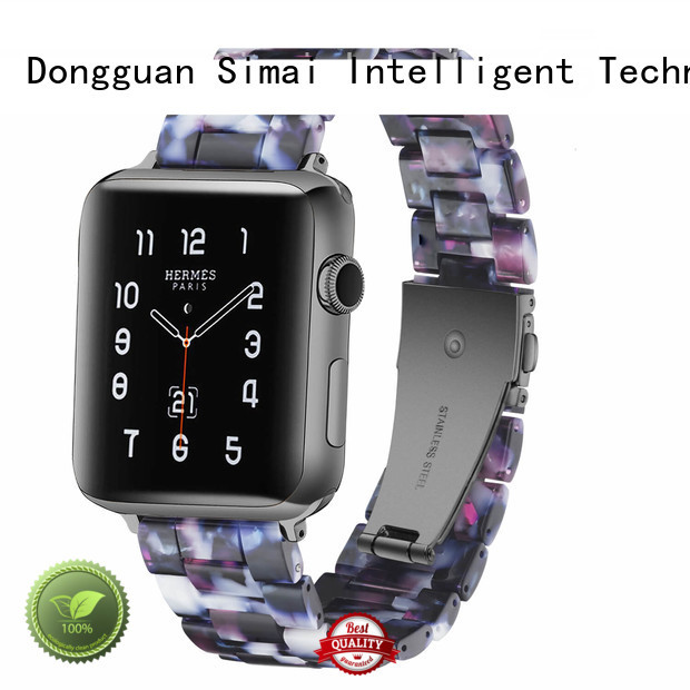 Simai Latest watch bands metal bracelet manufacturers for Huawei