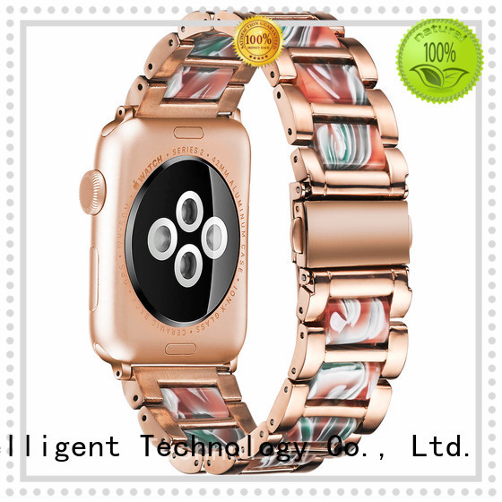 Simai tortoise resin strap for apple watch supply for iwath