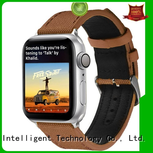 Custom 18mm canvas watch band strap manufacturers for apple