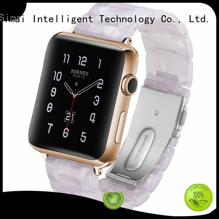 Simai Custom designer iwatch bands factory for cacio