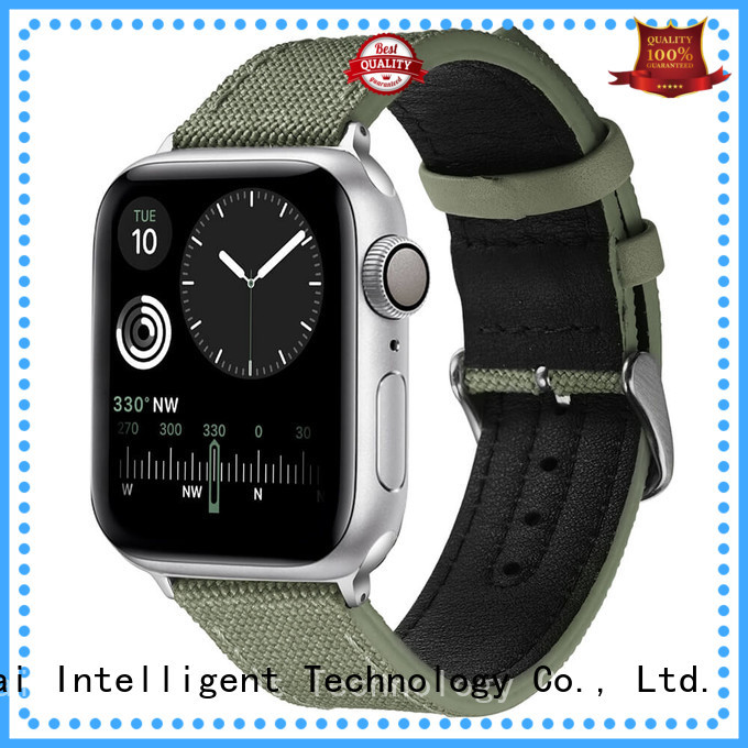 Simai green mens canvas watches company for apple