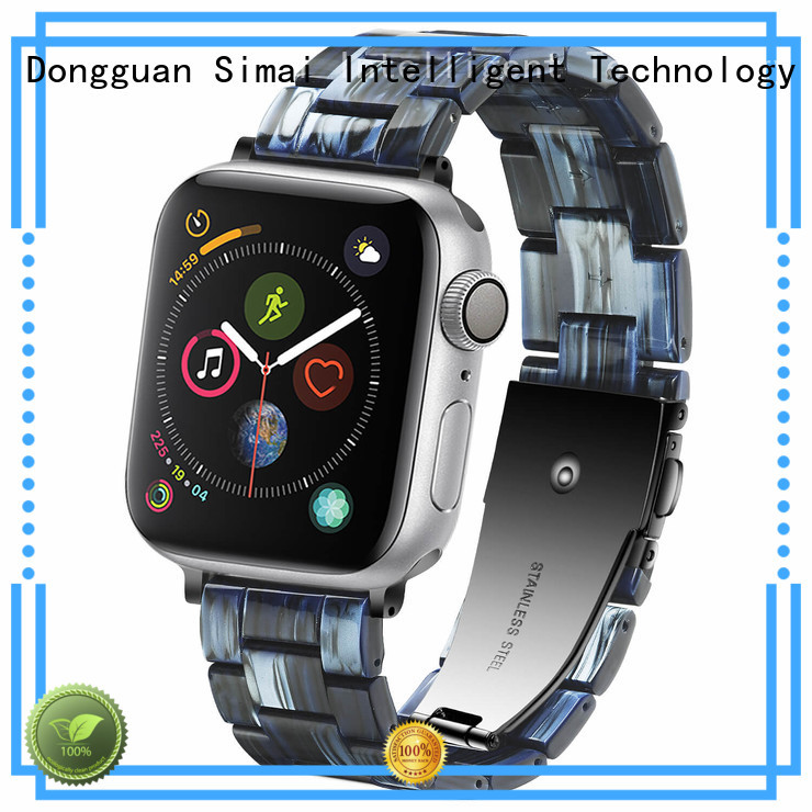 Top stainless apple watch band iwatch supply for Huawei