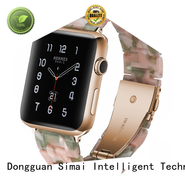 Simai Custom apple watch 2 leather band supply for Huawei