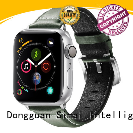 Simai Top 20mm vintage leather watch strap manufacturers for Huawei
