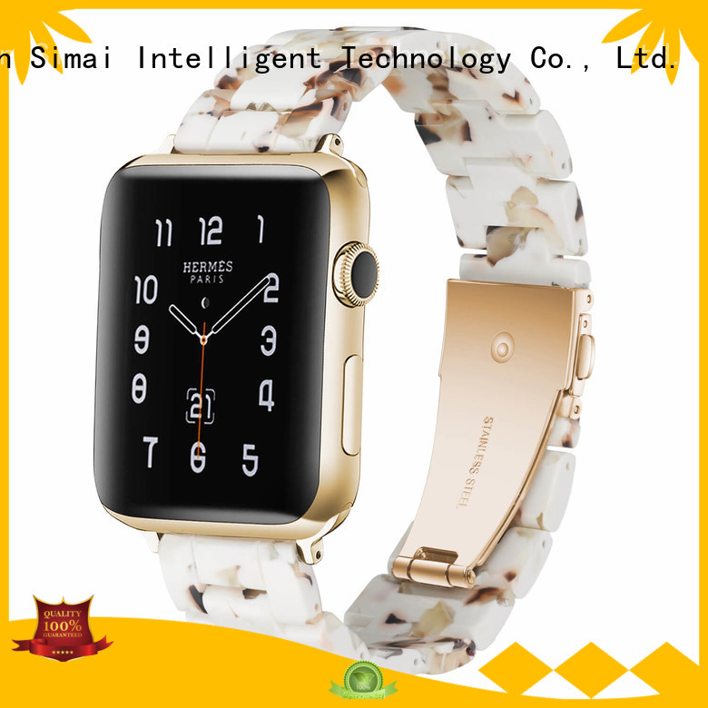 Simai chocolate skagen watch bands suppliers for Huawei